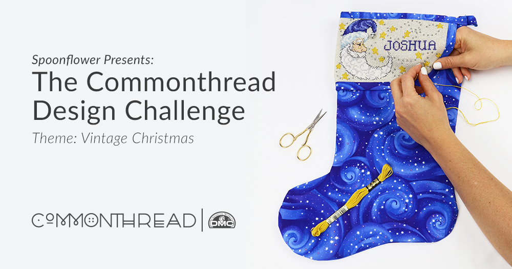 Spoonflower presents: The Commonthread Design Challenge