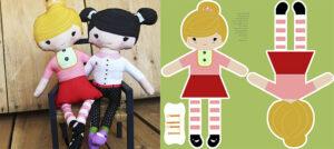 DIY Custom Cut and Sew Dolls