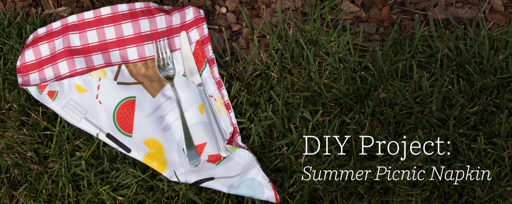 DIY Project: Summer Picnic Napkin