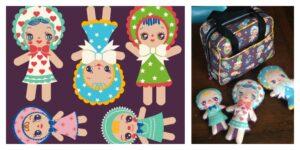 Bunka Dolls by Heidi Kenney