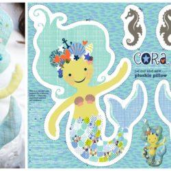 Cora the Mermaid by Cerigwen