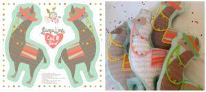 Llama Soft Toys by CjlDesigns