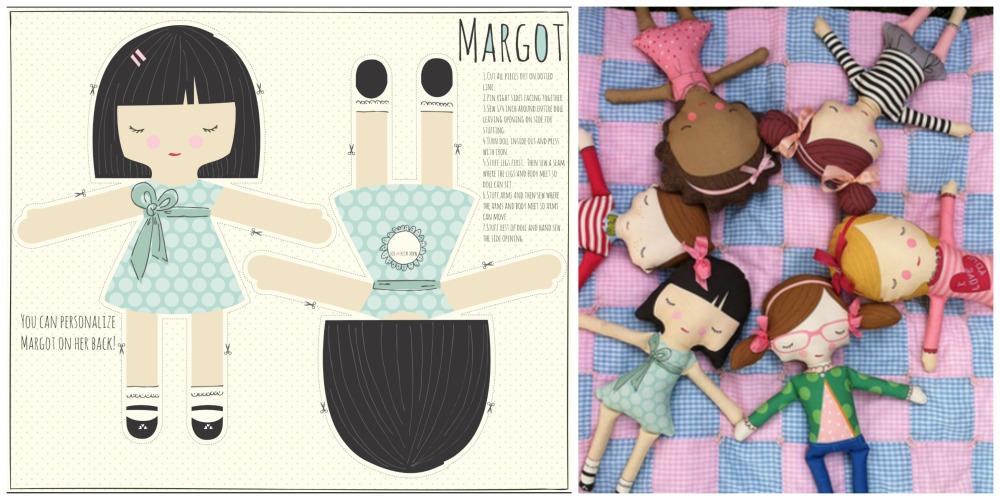 Cut and Sew Dolls by StacyIestHsu