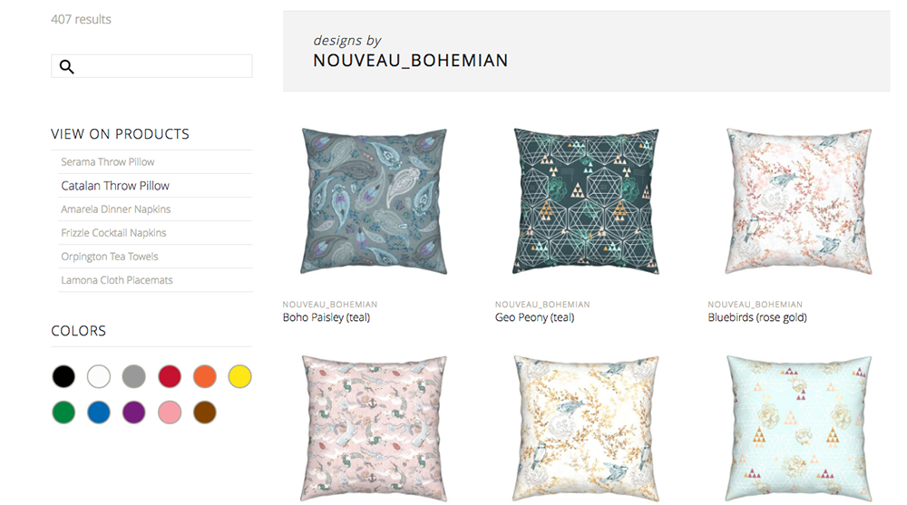 designs by Nouveau_Bohemian