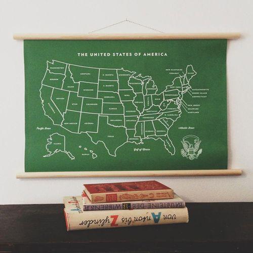 Vintage green classroom school chart