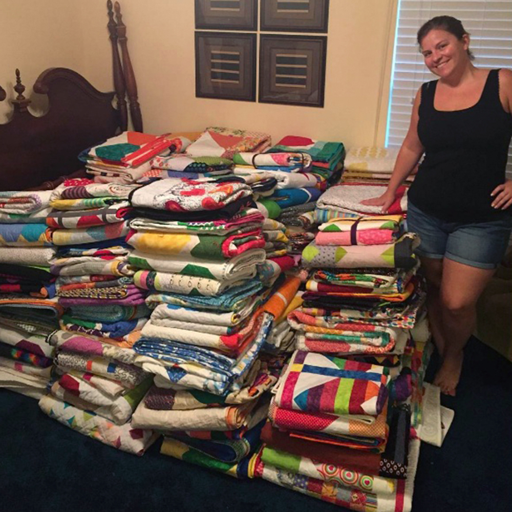 Quilts for Pulse donations