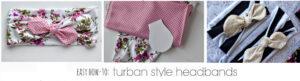 DIY Turban-Style Headbands