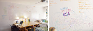 DIY Whiteboard Walls For Children's Bedroom