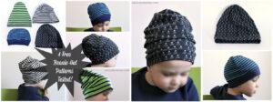 Little Kids Knit Beanie Hat Tutorial