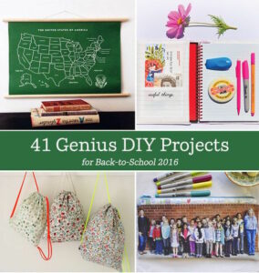 41 Back to School Projects