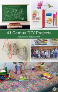 41 Genius Back to School DIY Projects