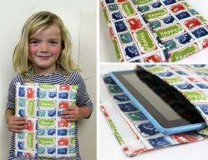 Custom Ipad sleeve with kids artwork
