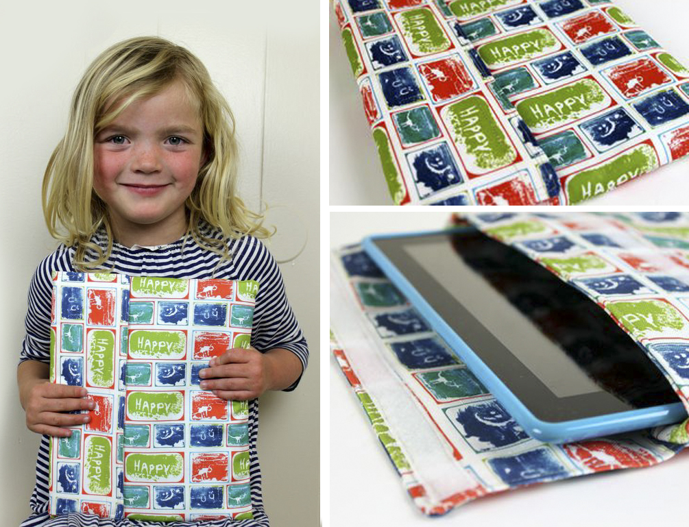 Custom Ipad sleeve with kids artwork