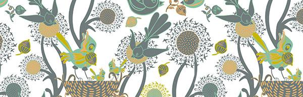 Chickoteria Spoonflower designer Patricia Donovan