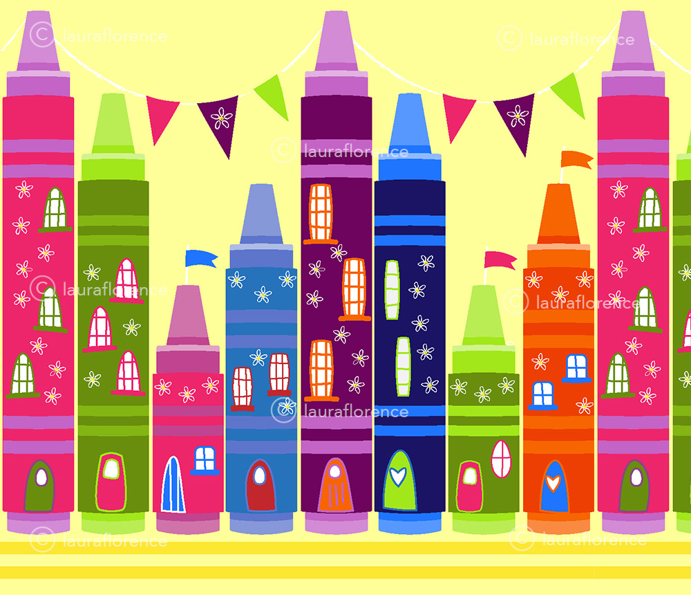 Crayon Street by lauraflorence