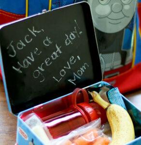 Chalkboard lunchbox