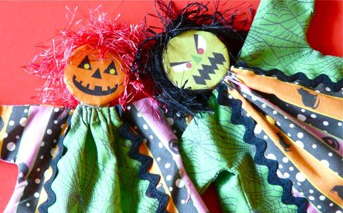 spooky halloween puppets