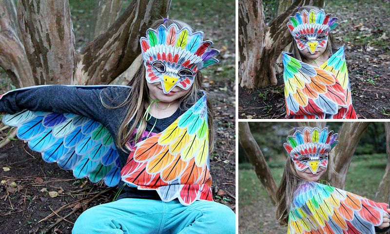 Fantastic Feathers - 1 yard costume