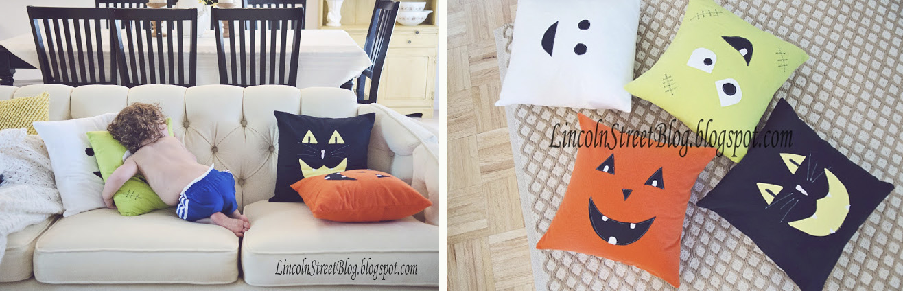 Pillows with Monsters Faces