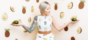 Kathryn Zaremba Avocado Dress | Spoonflower Blog