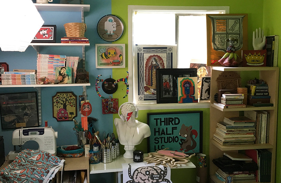 The studio of Third Half Studios!