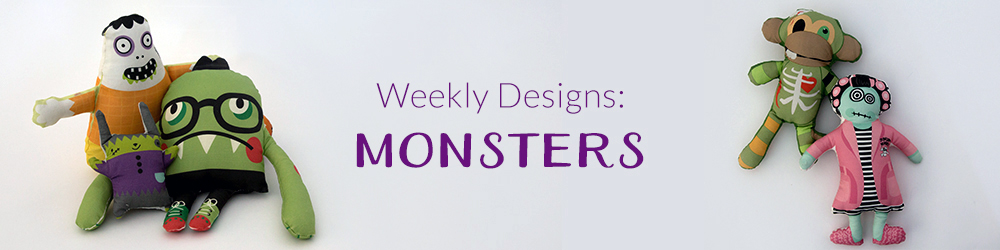 Monster Mash Weekly Designs