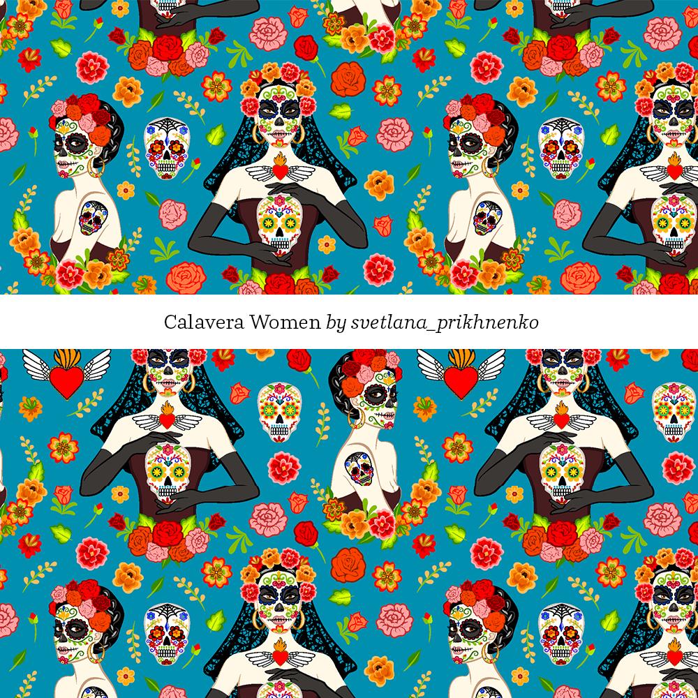 calavera women by Svetlana_Prikhenko