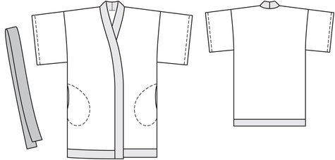 free downloadable Kimono pattern for Spoonflower readers!