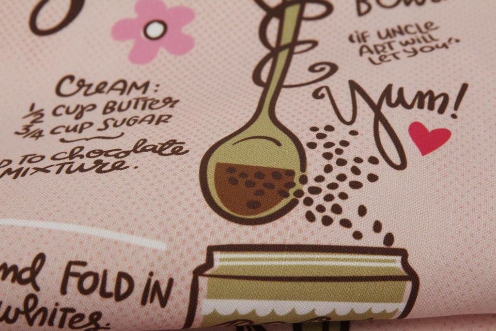 """Virginia's Dessert"" by cynthiafrenette tea towel was a first place winner"