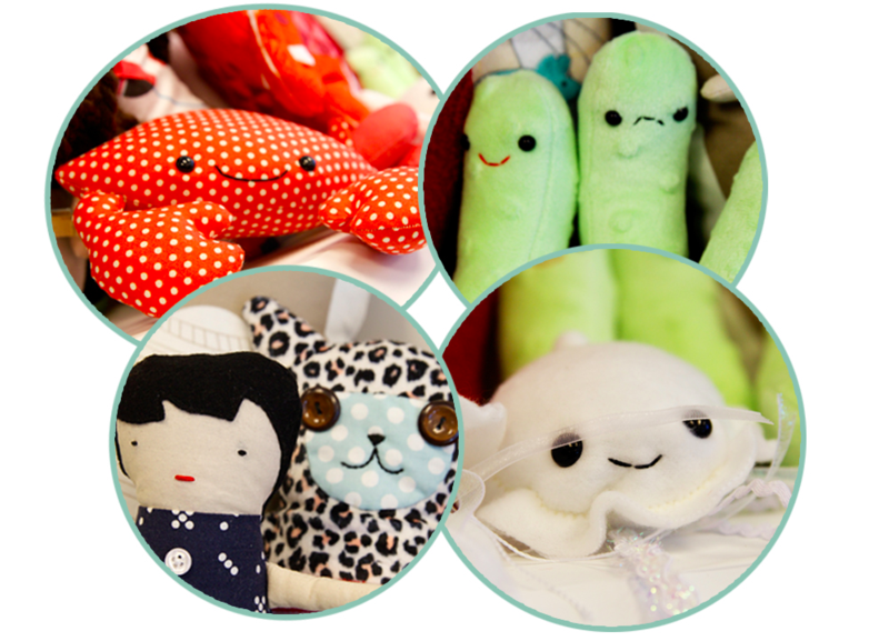 Softies for Mirabel donations ready for the Mirabel Foundation!