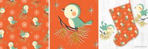 Petite_circus vintage Christmas design