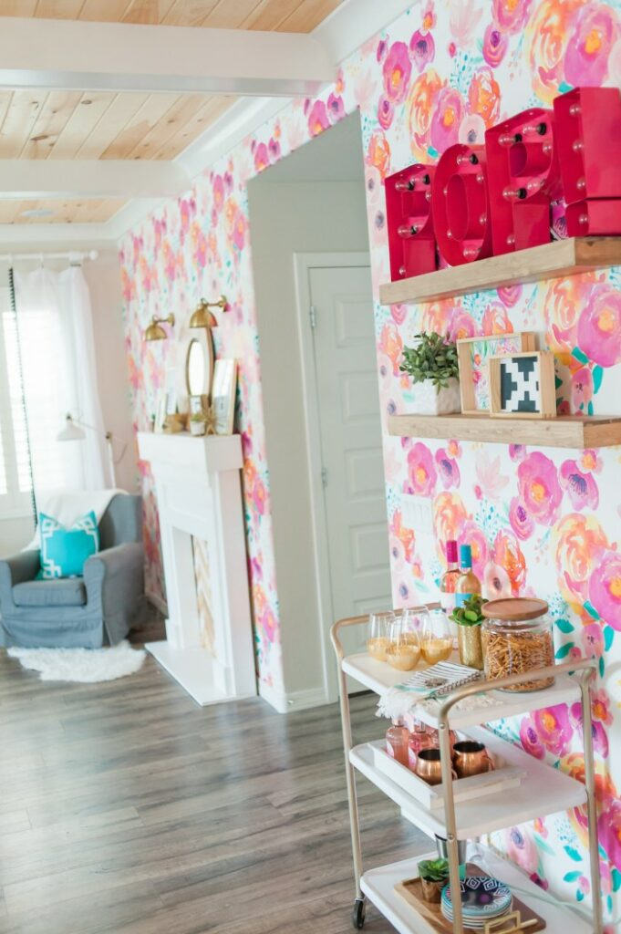 15 ways to use removable wallpaper spoonflower blog for 15 x 20 living room ideas