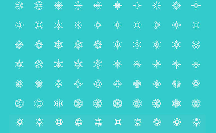 200 free downloadable snowflake icons