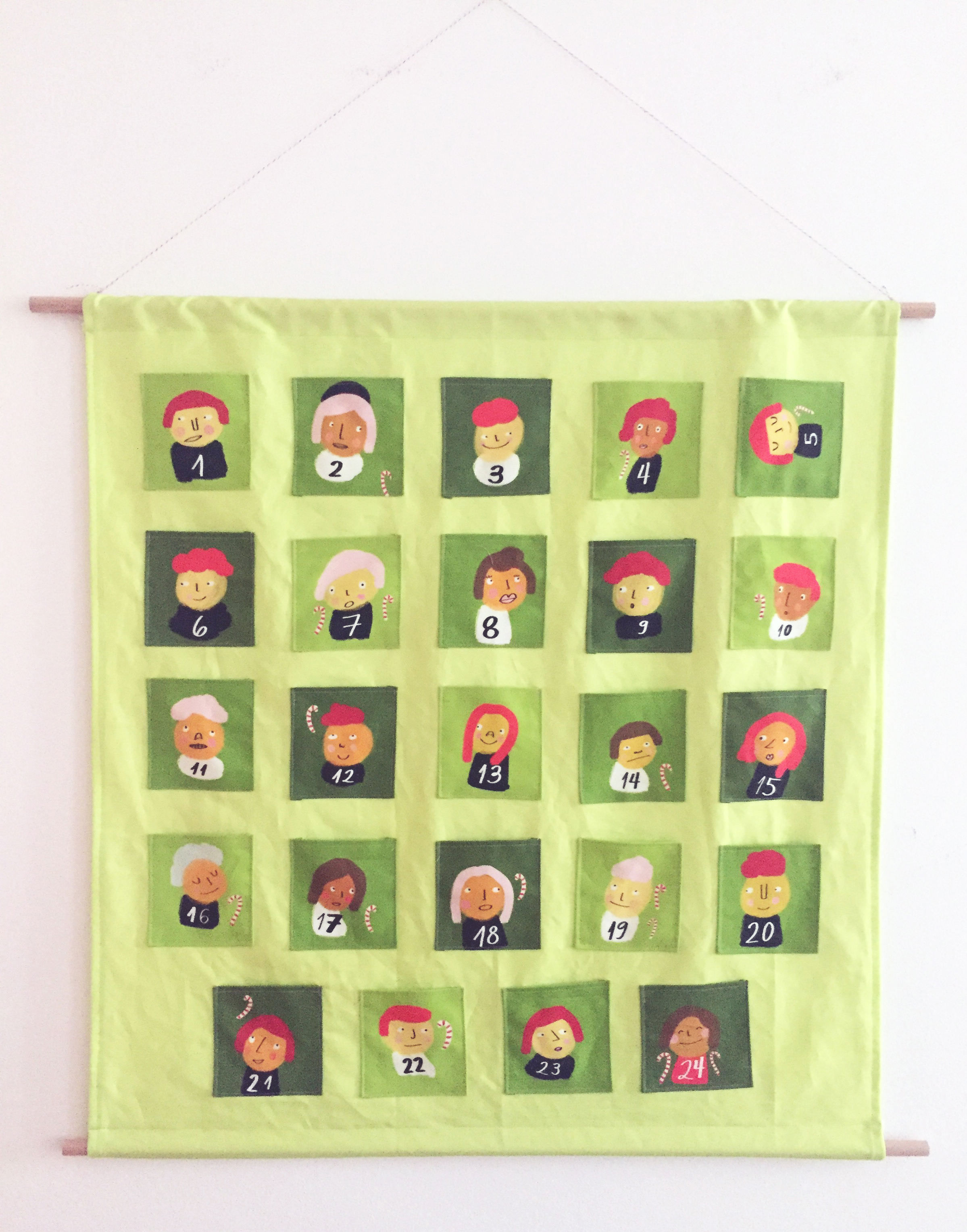 Advent Calendar Design Your Own : Learn to make your own cut and sew advent calender