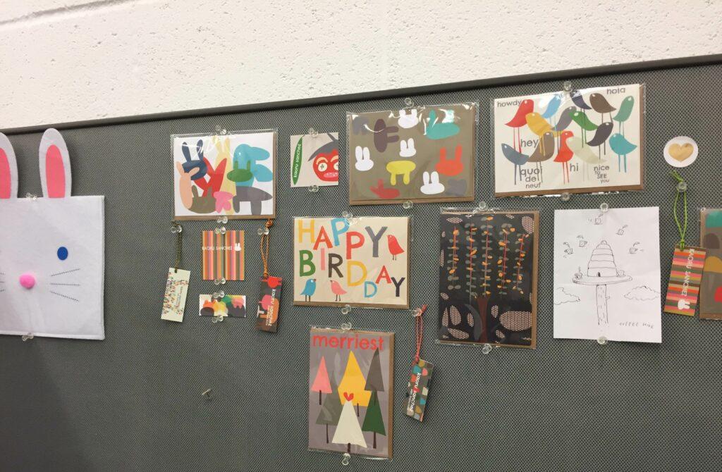 Kaoru's design studio