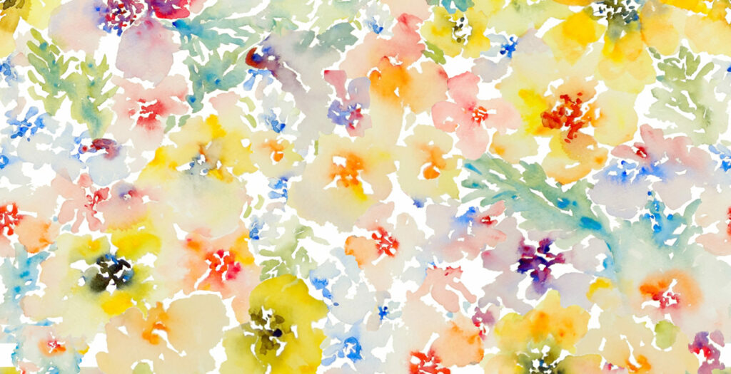 Watercolor Flowers, Spring by susan_magdangal