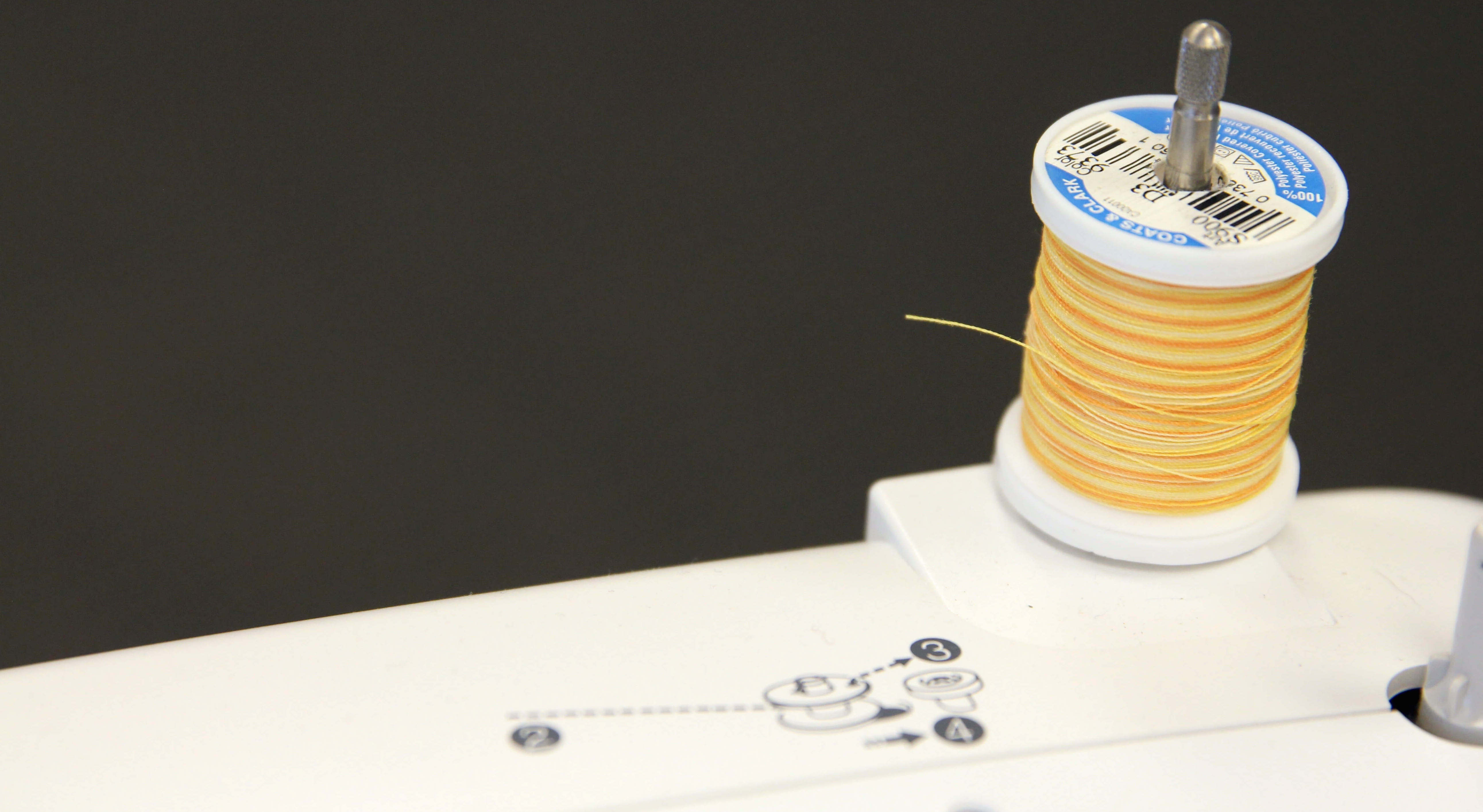 Spoonflower's Ultimate Sewing Guide for Beginners - Spool Pin