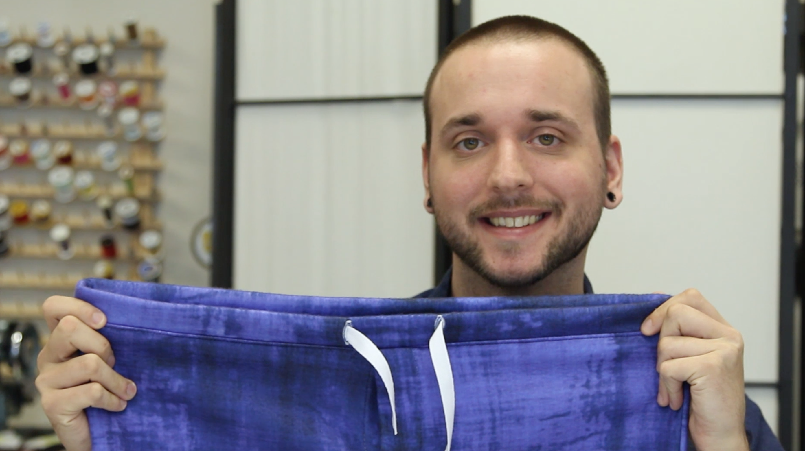 Tim with Sprout Pattern's Jasper Pajama Pants