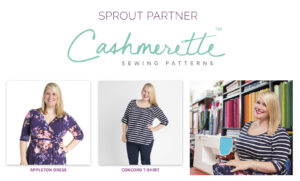 Sprout Patterns and Cashmerette Clothing