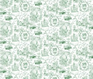 Country life toile by vinpauld