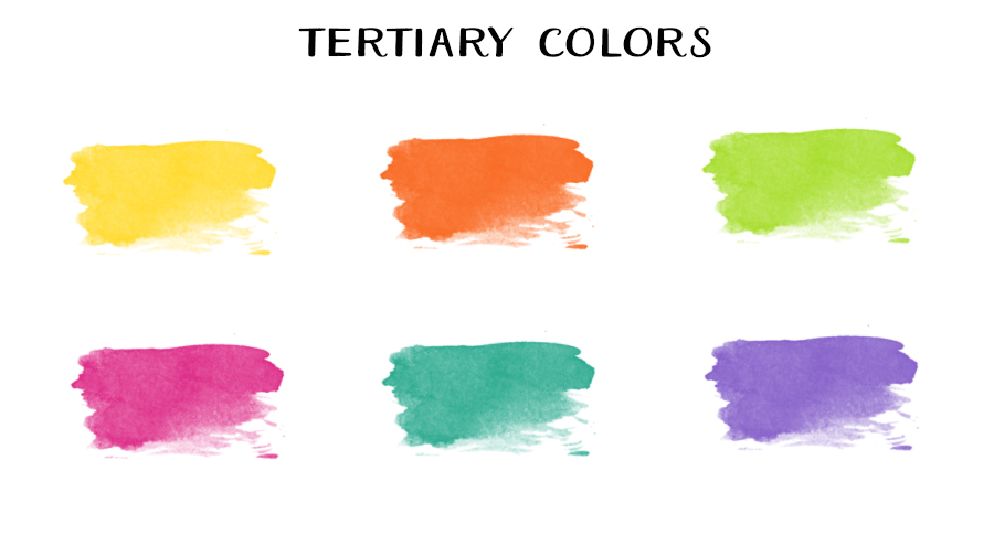 Tertiary Colors Are 28 Images Into The Woods Road