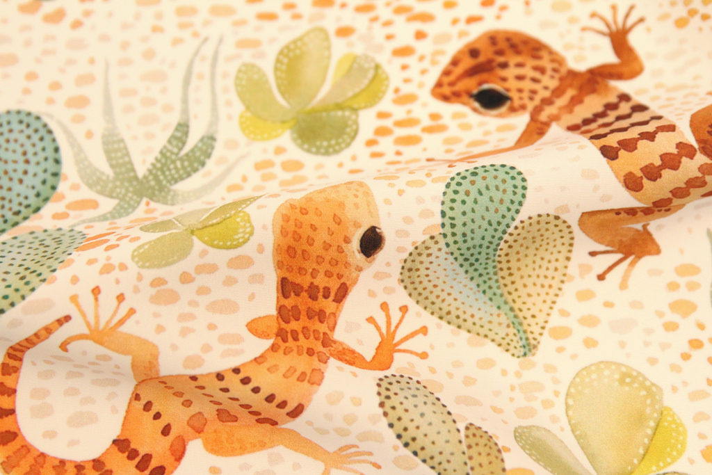 Painted Desert Geckos by cjldesigns is the winner of this week's design challenge