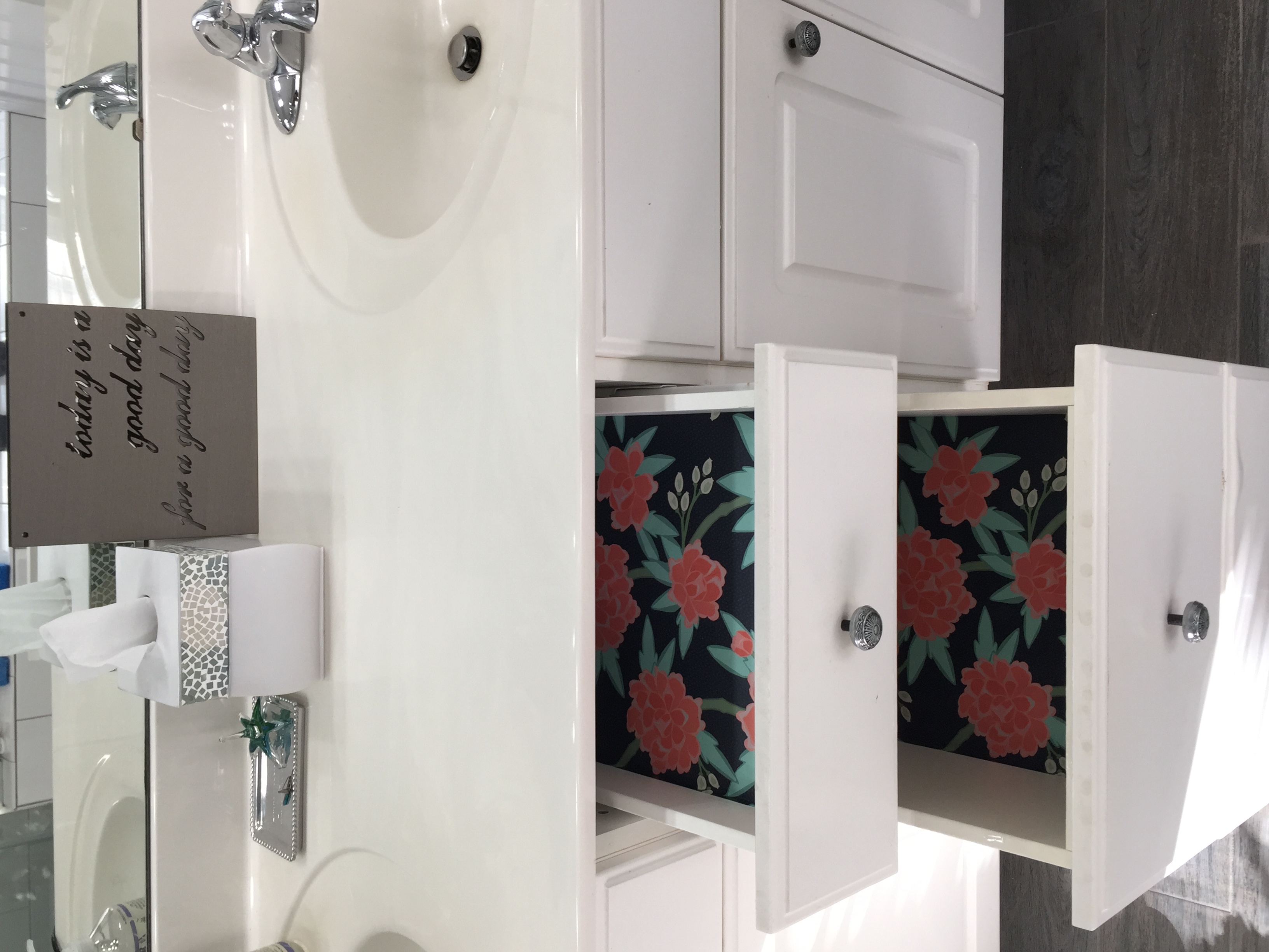 vanity interior cabinet mirror above your and house black drawers having the perfecting storage oval pe wooden on bathroom sink with white counter drawer completed top between appealing wall
