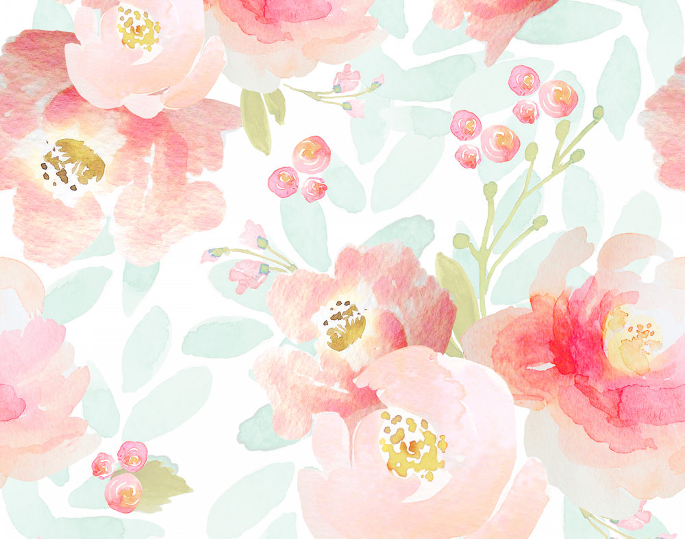 Indy Bloom Pink Plush Florals