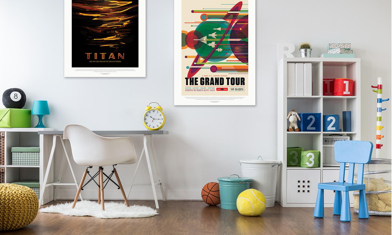 How to Make Custom Vintage NASA Posters | Spoonflower Blog