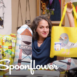 Spoonflower + Skillshare with SammyK
