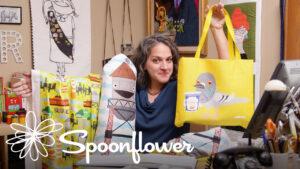 Spoonflower + Skillshare with SammyK