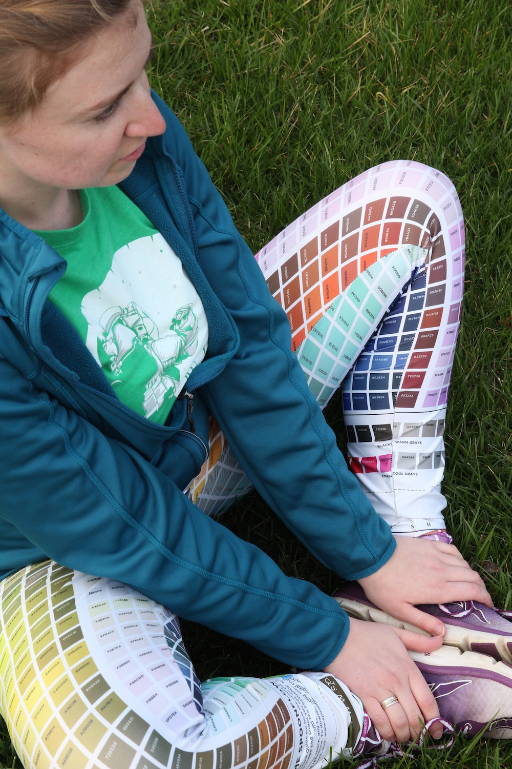 color map leggings