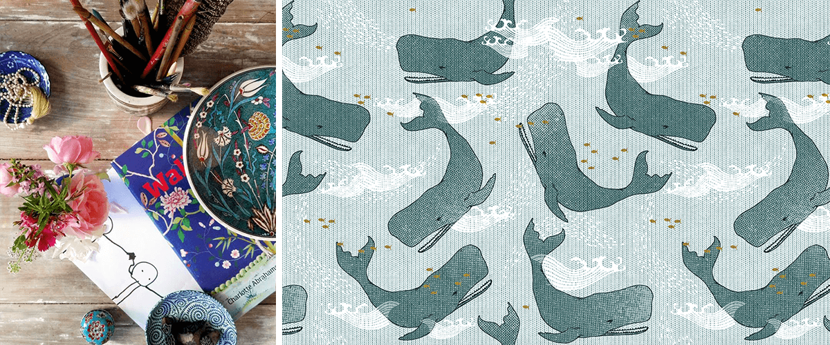 Esther's workspace | Design of whales