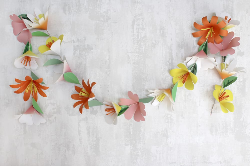 Ta Da Now You Have A Lovely Flower Garland To Bring New Life And Whimsy Your Home For Special Celebration Or Enjoy Year Round